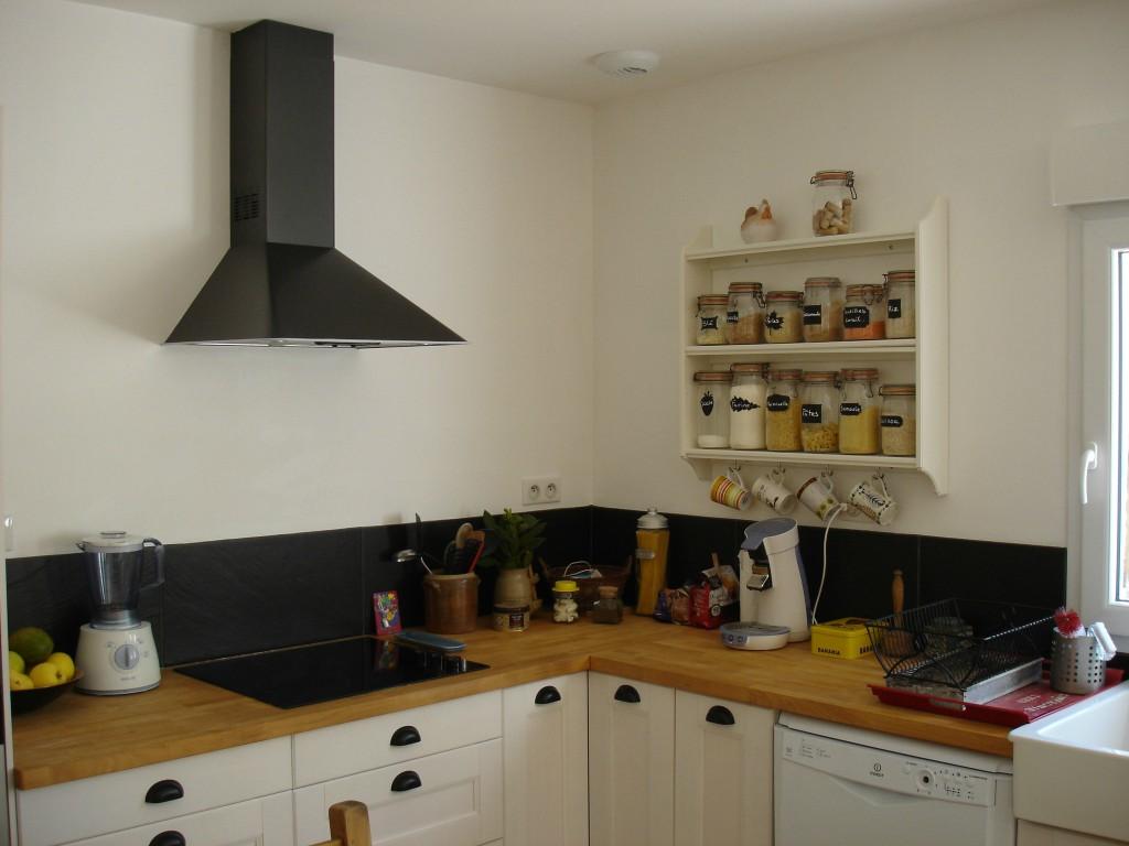 id e credence cuisine imitation ardoise cr dences cuisine. Black Bedroom Furniture Sets. Home Design Ideas