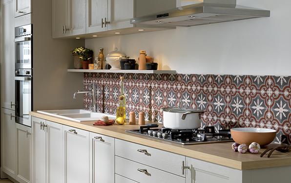 Id e credence cuisine sur carrelage cr dences cuisine for Credence sur carrelage cuisine