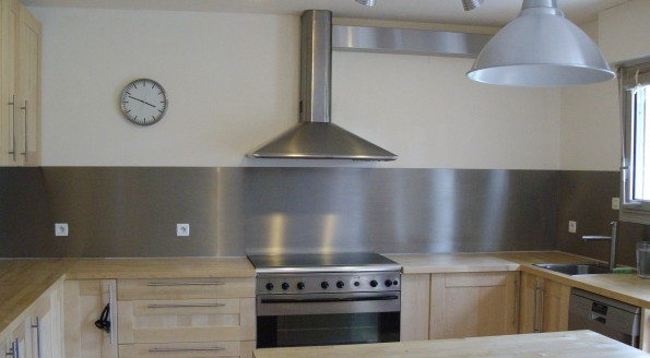 Id e credence aluminium pour cuisine cr dences cuisine - Credence rouge pour cuisine ...
