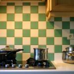 credence cuisine ceramique