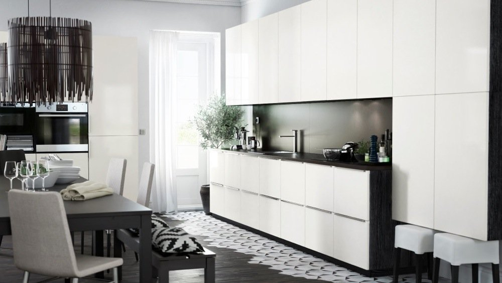 credence murale cuisine ikea cr dences cuisine. Black Bedroom Furniture Sets. Home Design Ideas