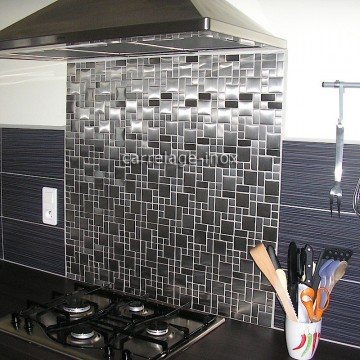 pose credence cuisine mosaique inox cr dences cuisine. Black Bedroom Furniture Sets. Home Design Ideas