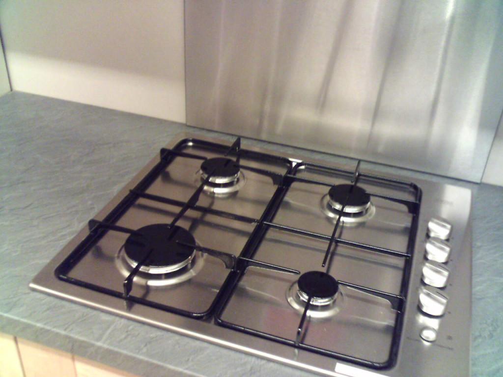 credence cuisine plaque gaz