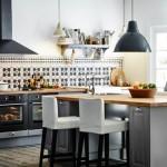 credence cuisine sans meuble haut