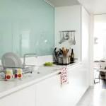 credence cuisine verre transparent