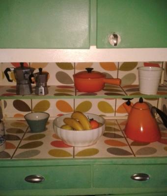 Id e credence cuisine vintage cr dences cuisine for Idee cuisine retro