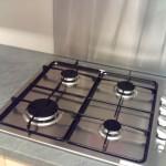 credence feuille acier cuisine