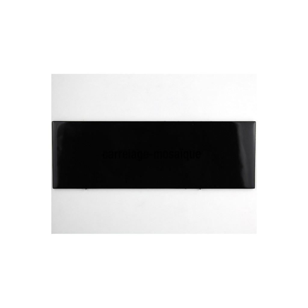 couleur carrelage credence verre cuisine 10×30 cm noir – crédences