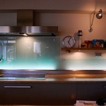 credence cuisine lumineuse