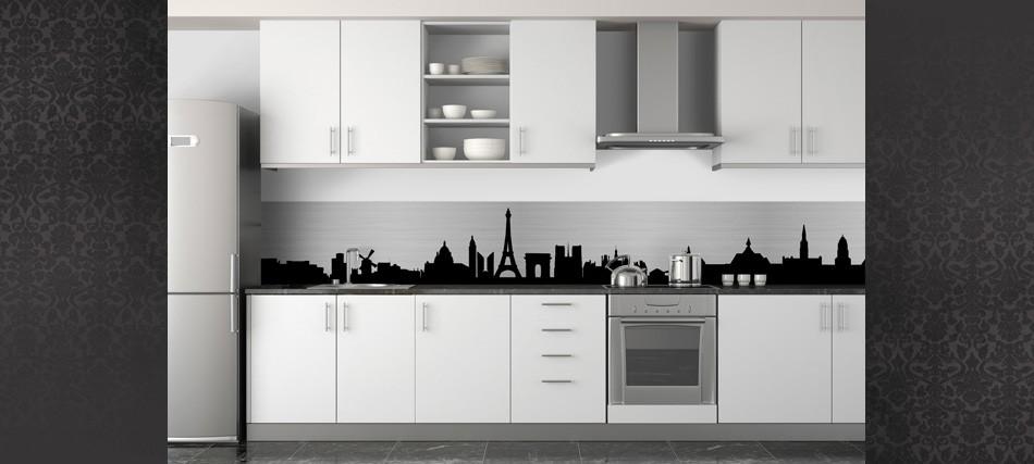 Prix credence cuisine noir et blanc cr dences cuisine - Credence cuisine noir et blanc ...