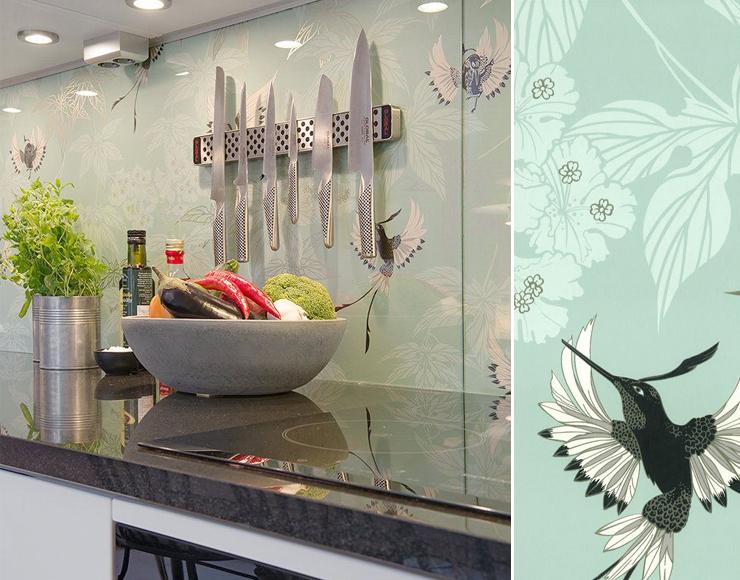 Prix credence cuisine papier peint cr dences cuisine for Papier peint lessivable cuisine
