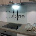 credence cuisine verre motif