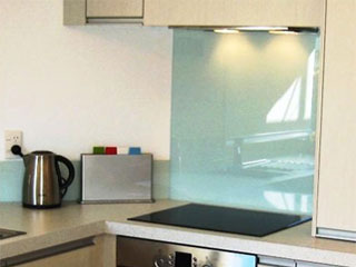 Acheter credence cuisine verre sable cr dences cuisine - Credence cuisine verre ikea ...