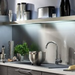 couleur credence cuisine blanche