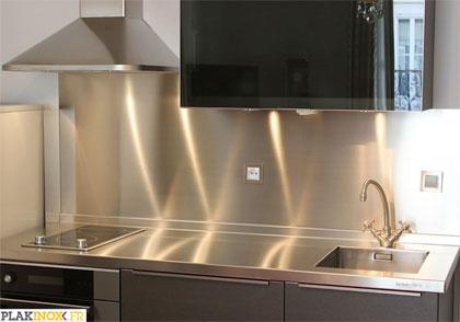 acheter credence murale cuisine inox cr dences cuisine. Black Bedroom Furniture Sets. Home Design Ideas