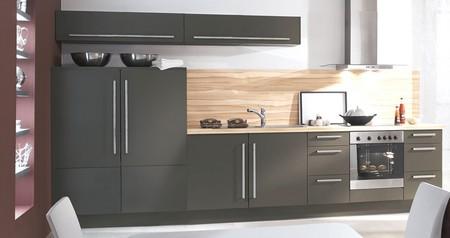 Pose credence pour une cuisine grise cr dences cuisine - Credence pour cuisine grise ...