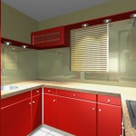 credence cuisine ikea rouge