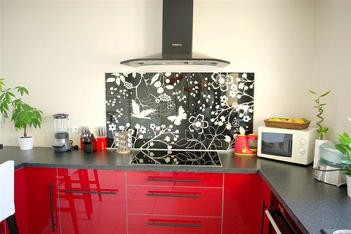 Id e credence cuisine ikea rouge cr dences cuisine - Ikea credence cuisine ...