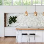 credence cuisine marbre