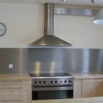 Credence inox cuisine cr dences cuisine for Poser une credence inox