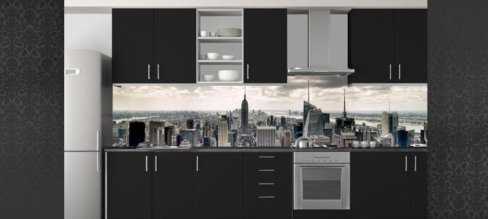 couleur credence cuisine dibond cr dences cuisine. Black Bedroom Furniture Sets. Home Design Ideas