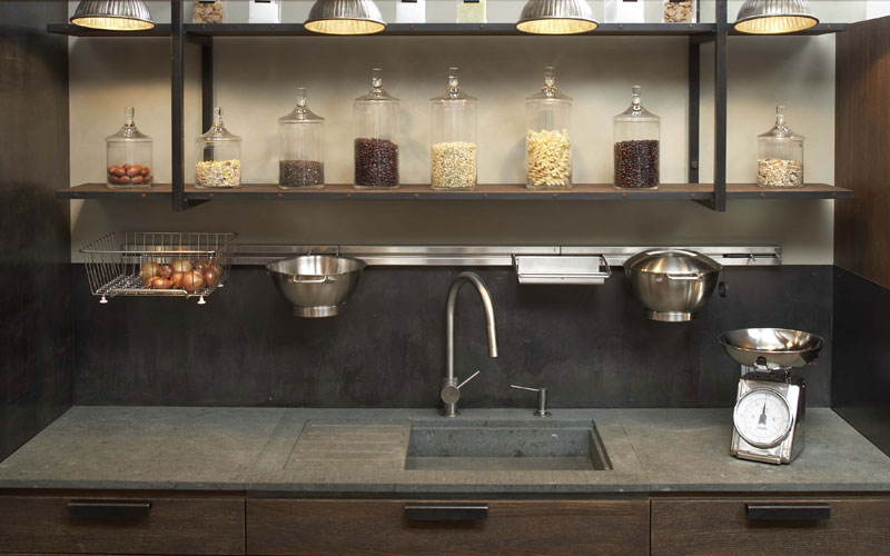 achat credence cuisine imitation pierre cr dences cuisine. Black Bedroom Furniture Sets. Home Design Ideas
