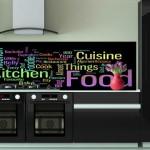 credence cuisine imprimee