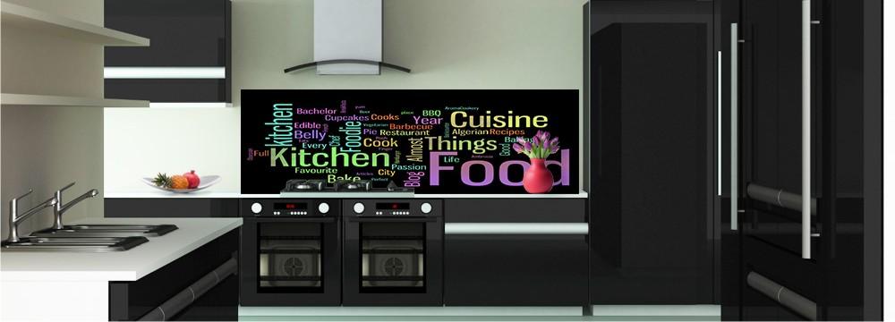 Pose credence cuisine imprimee cr dences cuisine - Credence cuisine conforama ...