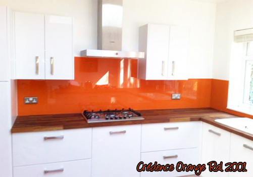 id e credence cuisine orange cr dences cuisine. Black Bedroom Furniture Sets. Home Design Ideas