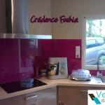credence cuisine verre couleur