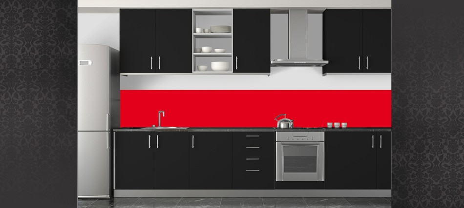 crdence murale cuisine awesome awesome credence mural cuisine carrelage inox pour credence. Black Bedroom Furniture Sets. Home Design Ideas