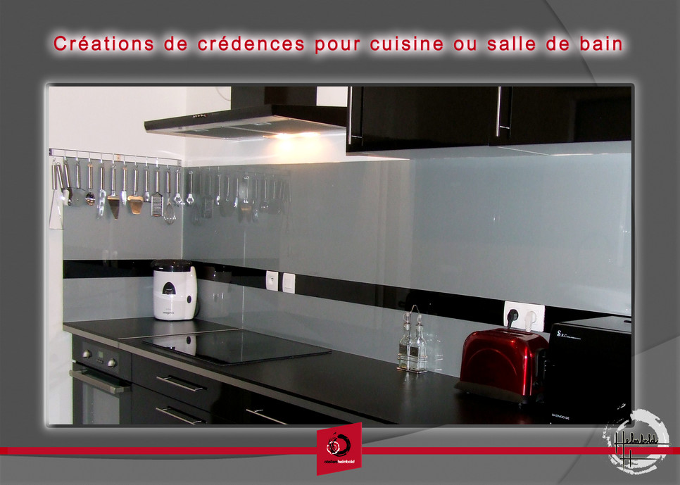 credence verre pour cuisine crdence cuisine inox crdence. Black Bedroom Furniture Sets. Home Design Ideas