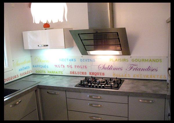 Achat credence cuisine motif cr dences cuisine - Credence decorative cuisine ...