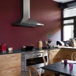 credence cuisine peinture