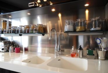 Credence cuisine carreaux de ciment cr dences cuisine - Credence cuisine autocollante ...