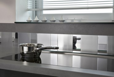 Credence adhesive castorama maison design for Credence cuisine inox a coller