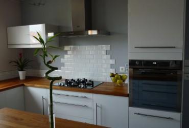 Credence cuisine blanc laque cr dences cuisine - Credence cuisine blanc laque ...