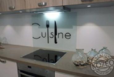 credence cuisine fixation cr dences cuisine. Black Bedroom Furniture Sets. Home Design Ideas