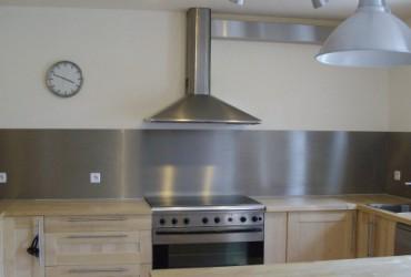 Credence cuisine verre trempe cr dences cuisine - Credence cuisine autocollante ...